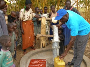 Well completed - Northern Uganda