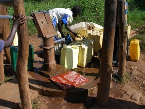 Well repair - Kamdini Primary School - Northern Uganda