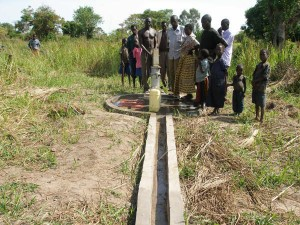 Mary's Well completed - Northern Uganda